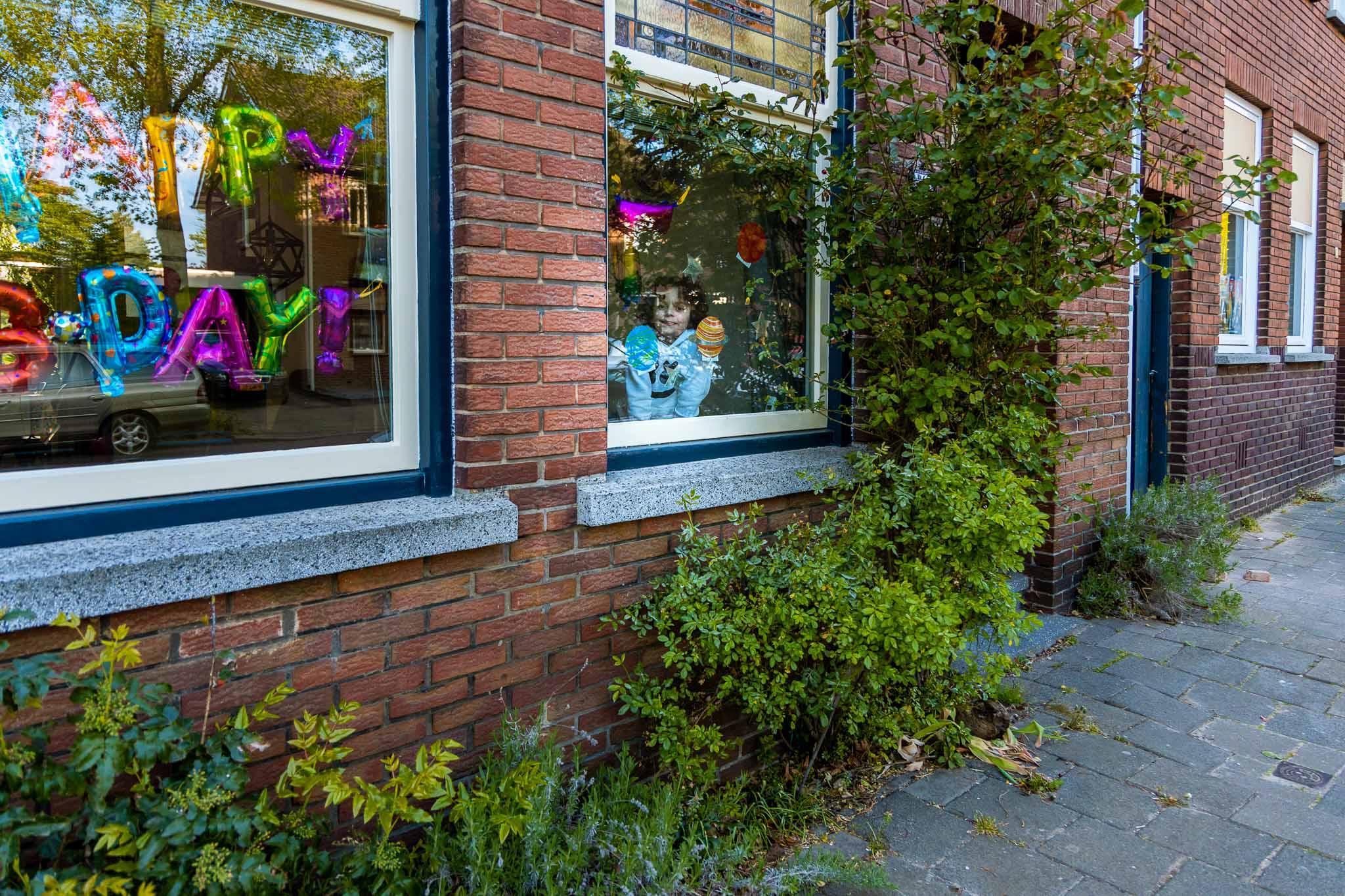 Voordeur portret